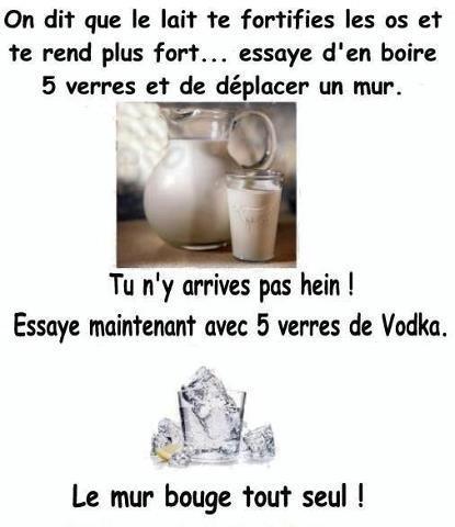 lait vodka