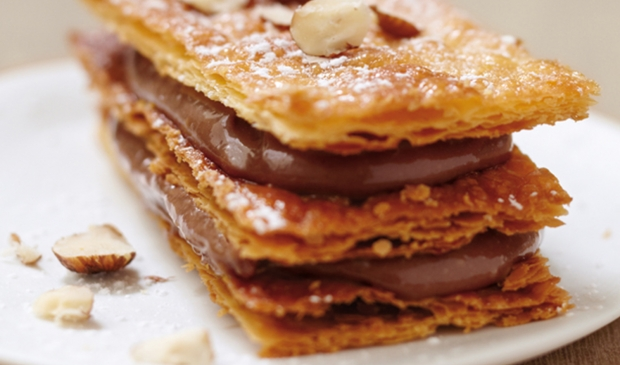 nutella mille feuille